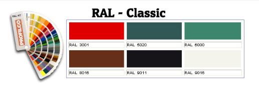 Ral K7 Renk Kartelası